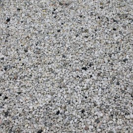Crystal White kwarts 08-12 mm 1500 kg.